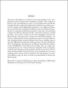 analysis and interpretation of data thesis
