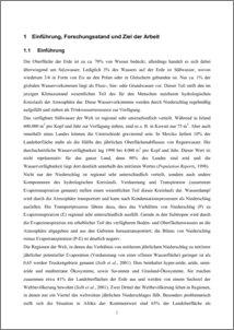 evapotranspiration thesis