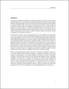 agricultural productivity thesis Bachelor thesis authors: patrik sundqvist, lisa andersson supervisors: this study examines the relationship between land fragmentation and agricultural productivity.