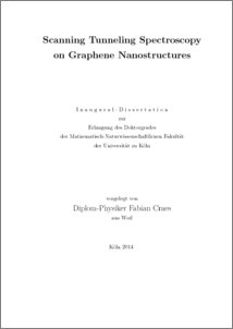 graphene doctoral dissertation Structural, electronic and catalytic properties of graphene{supported platinum nanoclusters a dissertation presented by ioanna fampiou submitted to the graduate.