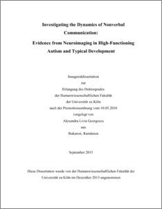 Phd thesis in development communication