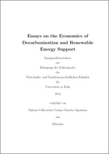 Essays On The Economics Of Decarbonization And Renewable Energy  Preview Research Papers Examples Essays also Write My School Project For Me  Ssays For Sale