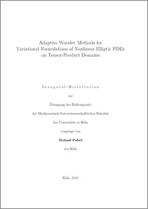 Phd thesis on linear programming